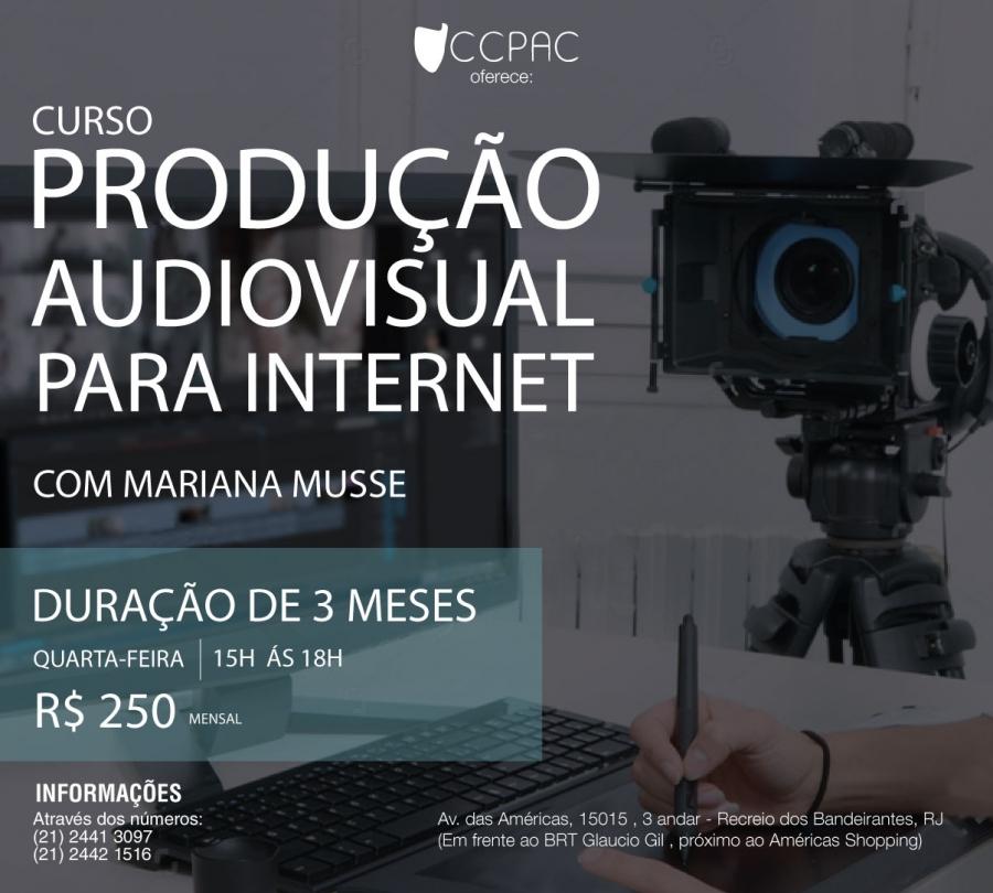 Produção Audiovisual para Internet