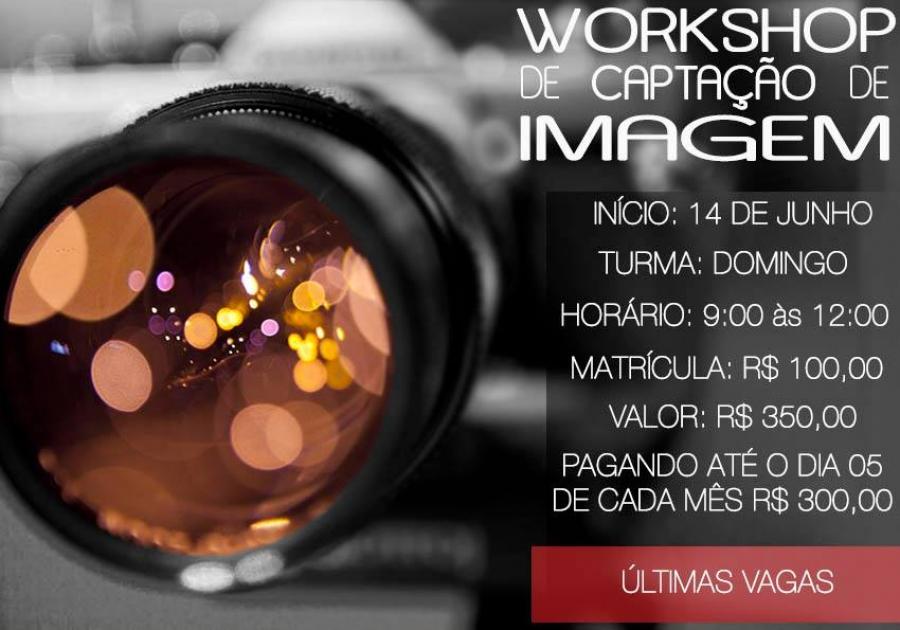 Workshop de Captação de imagens